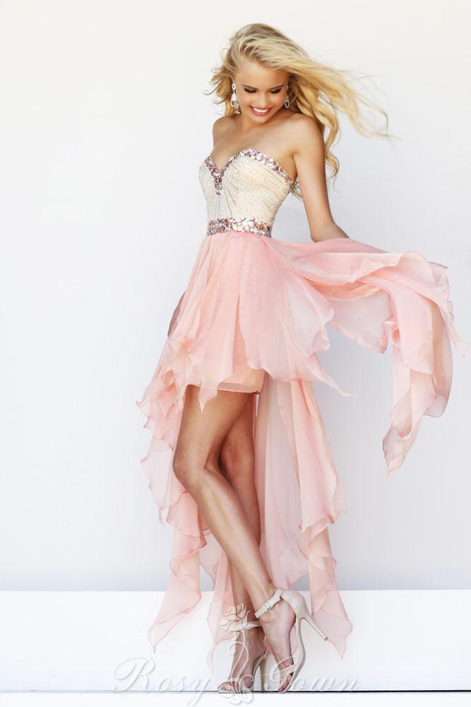 Light pink homecoming dress